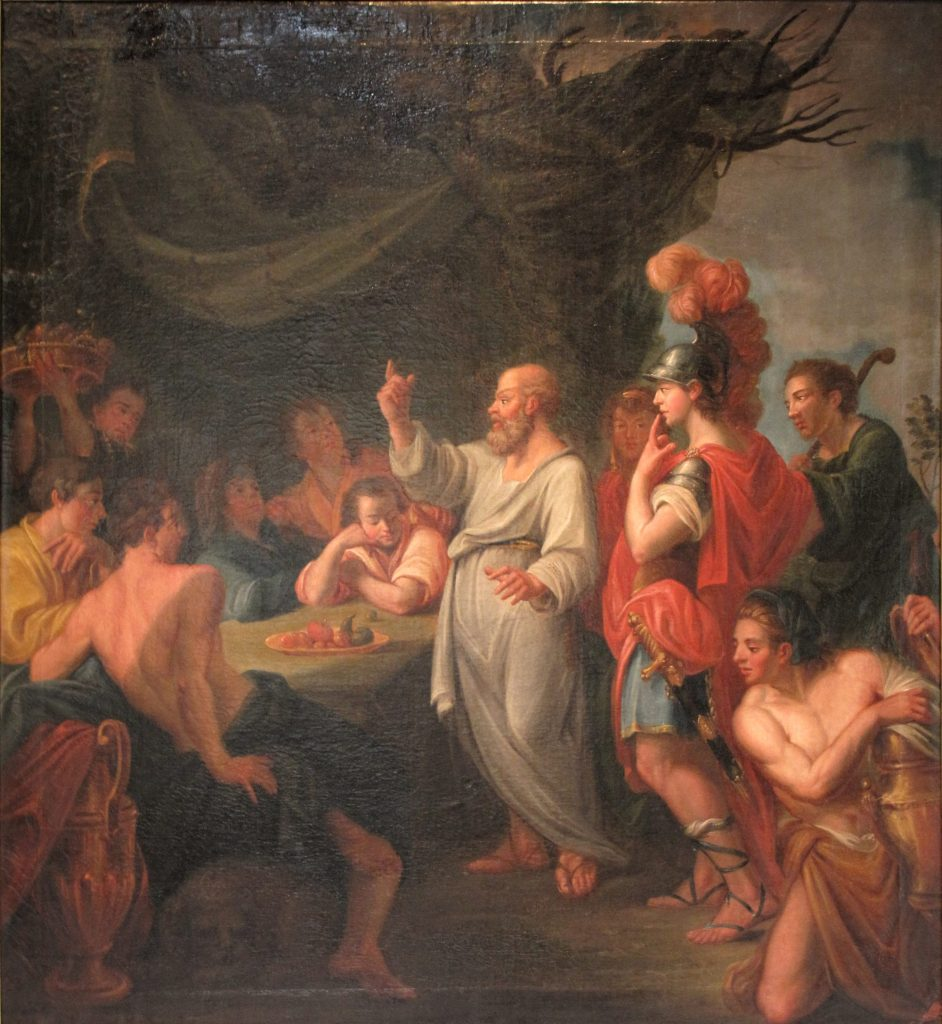criticism homer s iliad socrates depicted plato republic c He is depicted in conversation in compositions plato's apology of socrates purports to be the speech socrates gave at his trial socrates' criticism of.